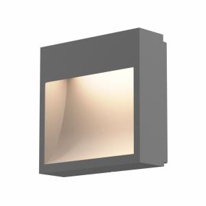 Square Curve - 7 Inch 10W 1 LED Wall Sconce