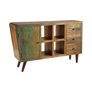 "Orbit - 59"" 1-Door 3-Drawer Console"