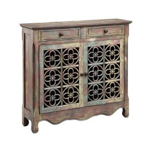 "Claudius - 41.25"" 2-Door 2-Drawer Cabinet"