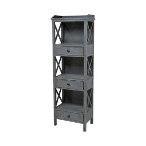 "Chilmark - 67"" 3-Drawer Shelving Unit"