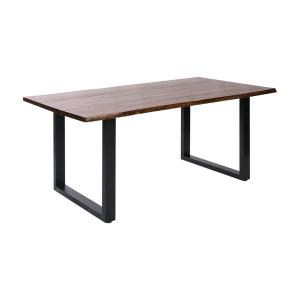 "Fleming - 70.8"" Dining Table with Wood Top"