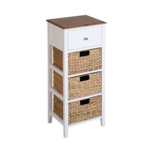 "Pismo Beach - 28"" 3-Basket 1-Drawer Accent Table"
