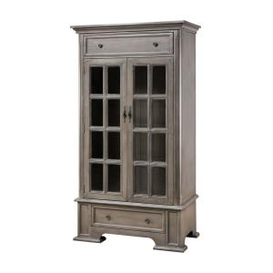"Hartford - 67"" 2-Door 2-Drawer Cabinet with 3 Inner Shelves"
