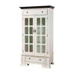 Hartford - 67 Inch 2-Door 2-Drawer Cabinet with 3 Inner Shelves
