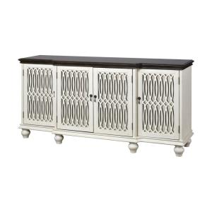 Hartford - 68 Inch 4-Door Cabinet with Middle Shelf