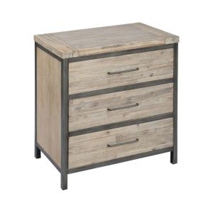 Cork County - 34 Inch 3-Drawer Chest