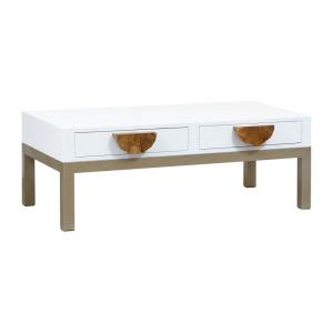 Slice - 48 Inch 2-Drawer Coffee Table