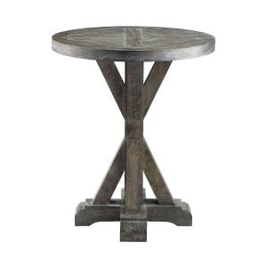"Bridgeport - 26"" Round End Table"