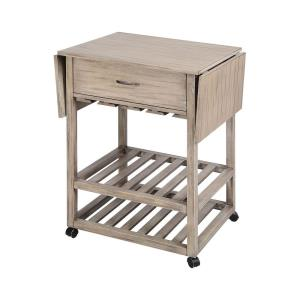 Tristan - 50 Inch Mobile Serving Cart