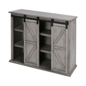 "Barn Door - 36"" Farmhouse TV Console"