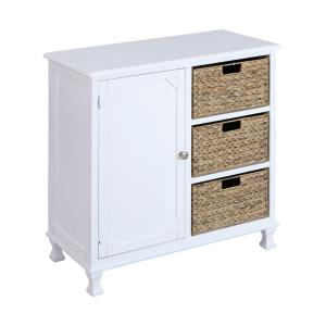 Pismo Beach - 31 Inch 3-Basket 1-Door Chest