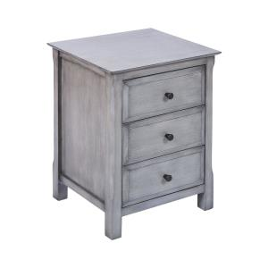 Pierpont - 24 Inch 3-Drawer Accent Table