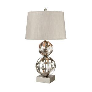 Strapped Orb - One Light Table Lamp