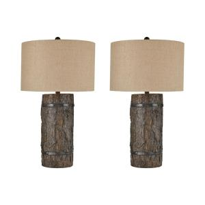 Seven Bridges - Two Light Table Lamp (Set of 2)