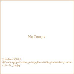"Ludlow - 45"" Contemporary Venetian Mirror"