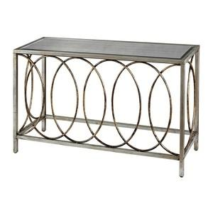 "Retford - 47"" Console Table with Mirrored Top"