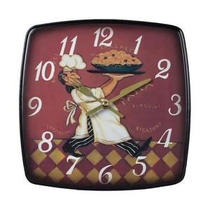 "9"" Busy Chef Wall Clock"