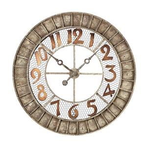 "36"" Round Outdoor Wall Clock"