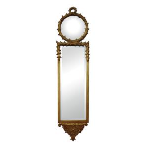 "Shalom - 9"" Decorative Mirror"