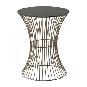 """Thurcott - 20"""" Curved Drum Table"""