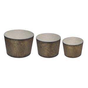 "Shaw - 24"" Side Table Set of 3"