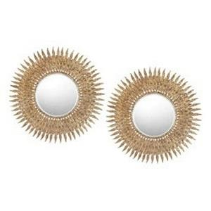 "Teignmouth - 25"" Round Mirror (Set Of 2)"