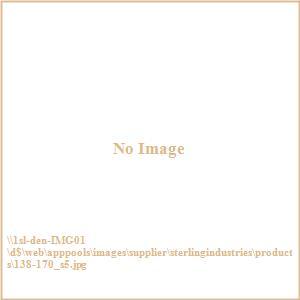 """Hexagonal - 16"""" Mirror (Set of 5)"""