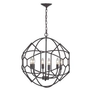 Strathroy - Six Light Chandelier