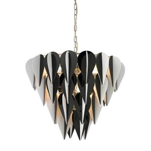 Ashreigh - Six Light 3-Tier Pendant