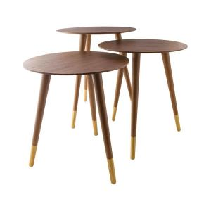 "Jetset - 22"" Accent Table (Set Of 3)"