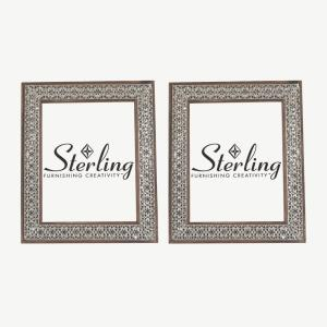 """Pierced - 12"""" Picture Frame (Set of 2)"""