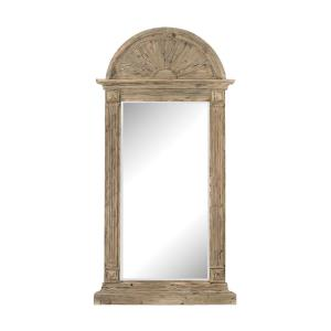 91 Inch Classical Arch Top Wall Mirror