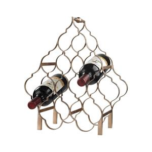 """16"""" Quatrefoil Wine Rack"""