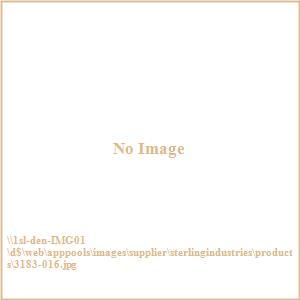 """Albiera - 47.2"""" 3-Drawer Desk"""