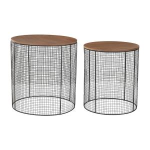 "20"" Wire Side Table (Set of 2)"
