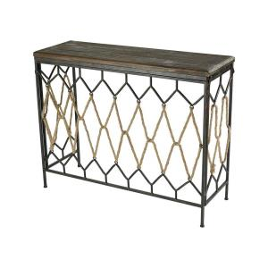 "Rope Truss - 41"" Console Table"