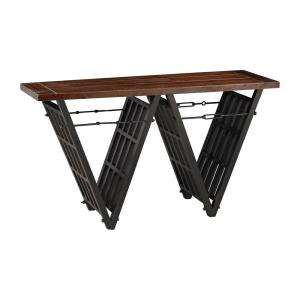 "Industrial - 55.1"" Era Console Stretcher"