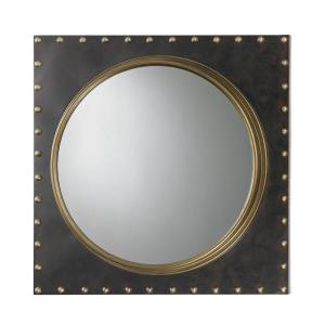 "Porthole - 25"" Square Wall Mirror"