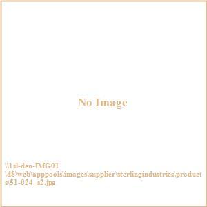 """14"""" Mirrored Hexagonal Mirrored Tray (Set of 2)"""