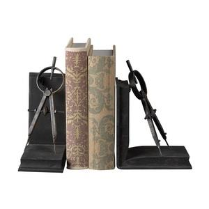 "12"" Compass Bookend (Set of 2)"