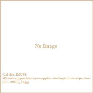 "11"" Metal Flower Trinket Box"