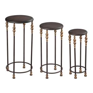 "Dudley - 30"" Stacking Table Set Of 3"