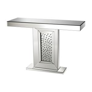 """43.3"""" Jewel Inlay Console Table"""