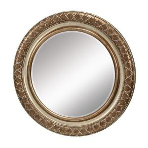 "Cocktail In Scuyler - 35.5"" Circular Mirror"