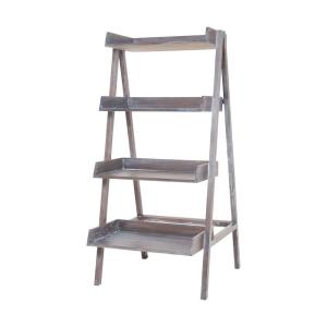 68 Inch Wash Stack Shelf Ladder