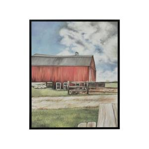 American Barn - 31.18 Inch Wall Decor