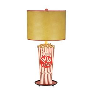 One Light Movie Snack Table Lamp