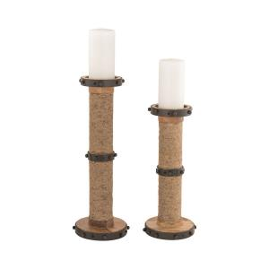 Narragansett - 18 Inch Candle Holder (Set of 2)
