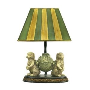 Bunnies Bearing Dinner - One Light Table Lamp