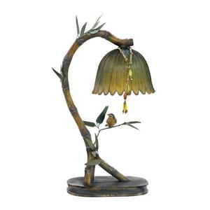 Perching Finch - One Light Table Lamp